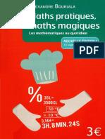 Maths Pratiques Maths Magiques - Librio