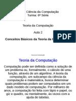 Conceitos Basicos Da Teoria Da Computacao