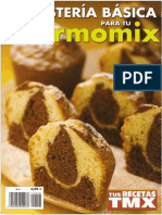 Revista · Thermomix · Tus Recetas TMX N.08 - Reposteria Basica