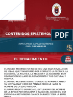 CONTENIDOS ESPISTEMOLOGICOS