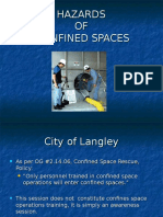 Crew Talk Confined Space Awarness Training