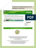 Panduan Pemeringkatan KIP 2015
