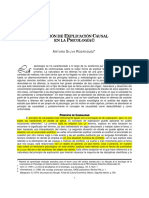 Actividad 4. Silva, R. Arturo. (2005) La Noción de Explicación Causal.