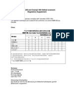 Scanjet 200 and 300 scanners Regulatory Supplement.pdf