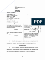 Carrow vs. FedEx Complaint