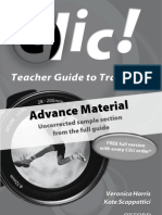 KS3 Clic! Teacher Guide to Transition sample