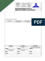 P-pc-553(m) Procedimiento de Limpieza a Alta Presion Rev 00