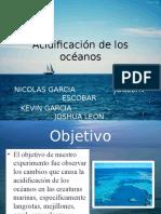 Acidificacin de Los Oceanos