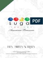 Sugar Factory Menu