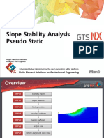 Slope Stability Analysis Pseudo Static