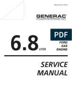 194-323 Ford WSG1068 6.8L Industrial Engine Service Manual (Generac OE7083) (02-2002)