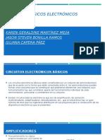 Circuitos basicos electronicos