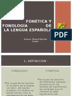 Fonetica y Fonologia de La Lengua Española