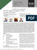 Carbon fibre-reinforced polymer
