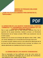 La Posición Del Gobierno de Fernando Belaúnde Terry