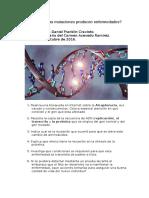 Actividad 3 ¿Las Mutaciones Producen Enfermedades