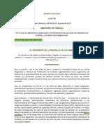 Decreto 1352 de 2013