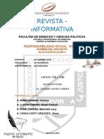 Revista Informativa ULADECH -DERECHO