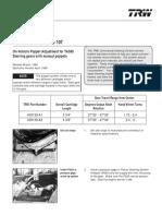 Manual TAS85 Poppet Setting