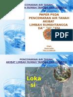 Pencemaran Air Tanah