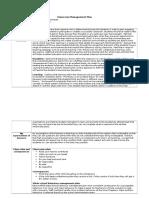 classroom management plan- 5s