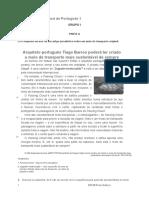 Ficha avaliação LP 6º