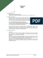 Spesifikasi Teknis Turap Beton