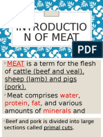 L1 - 3rd Introduction of Meat