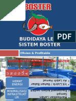 Budidaya Lele Sistem Boster