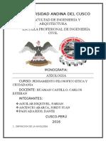 Monografia de Axiologia