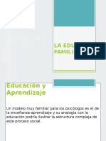 La Educacion Familiar