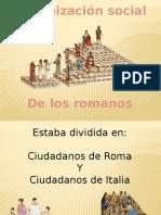 Organización Social y Vivienda de Los Romanos