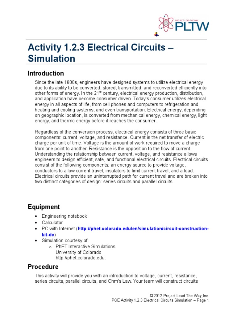 123 Simulation Nick Bartling Series And Parallel Circuits What Circuit Simulator Does Everyone Use Page 1 Electric Current