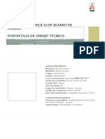 portafolio dibujo tecnico