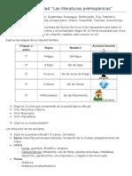Guía de Literatura Examen Semestral