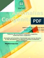Anomalias congenitas JMGM
