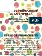 Estados Financieros en La Empresa