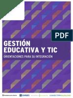 02 -Gestion Educativa y Tic