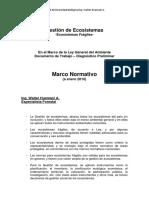 Ecosistemas Fragiles Marco Normativo