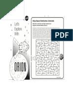 Orion Maze Game