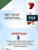 Diet Sehat Hipertensi