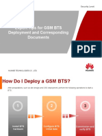 Expert Tips for GSM BTS Deployment and Corresponding Documentation
