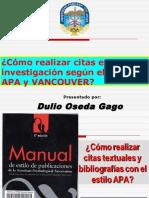 SESION N° 03 - COMO REALIZAR CITAS EN INVESTIGACIONES