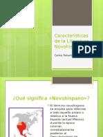 Características de La Literatura Novohispana