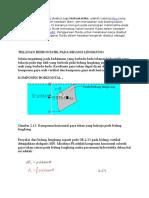 Tekanan Hidrostatik Pada Bidang Lengkung