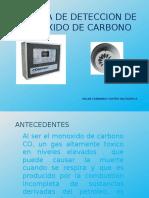 Sistema de Deteccion de Monoxido de Carbono