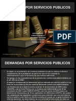 Demandas Por Servicios Publicos