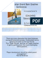 Frank Giampaolo the Tennis Parents Bible