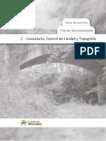 11 C-Consultoría, Control de Calidad y Topografía IMPORTANTE