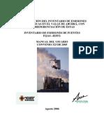 Valle Aburra Inventario de Emisiones de Fuentes Fijas